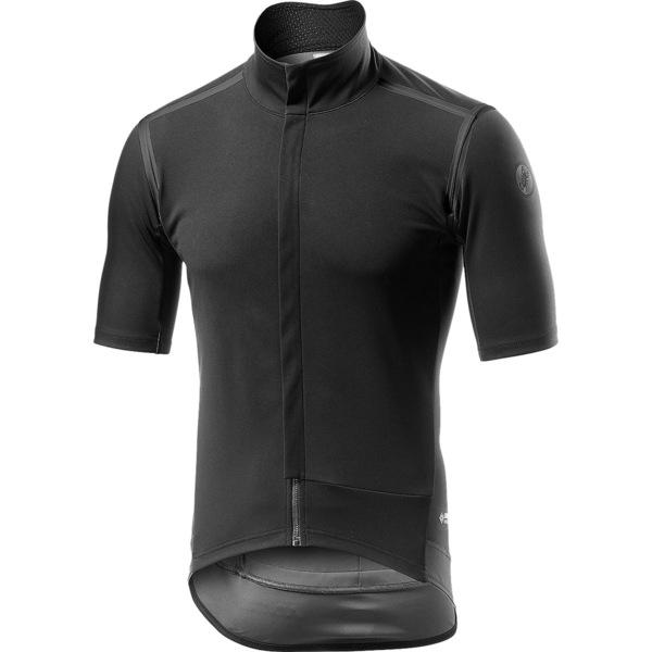 カステリ メンズ サイクリング スポーツ Gabba RoS Black Out Jersey - Men's Light Black/Reflex