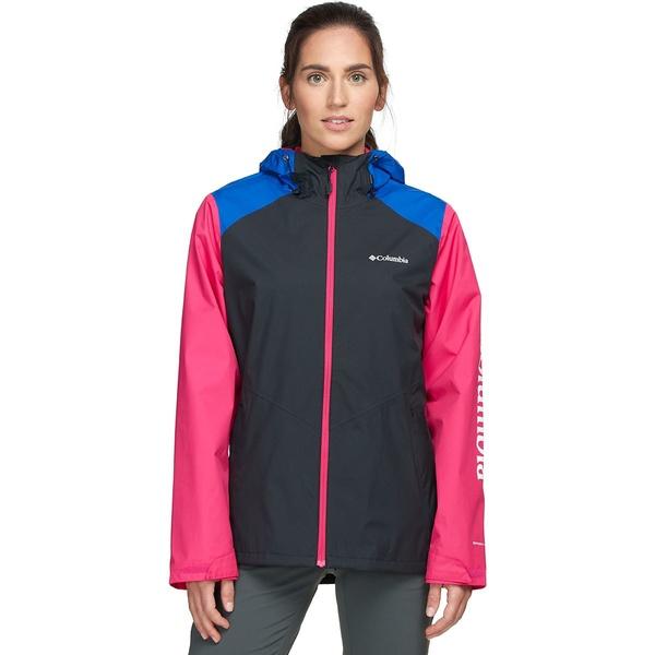 コロンビア レディース ジャケット&ブルゾン アウター Inner Limits II Jacket - Women's Black/Azul/Cactus Pink