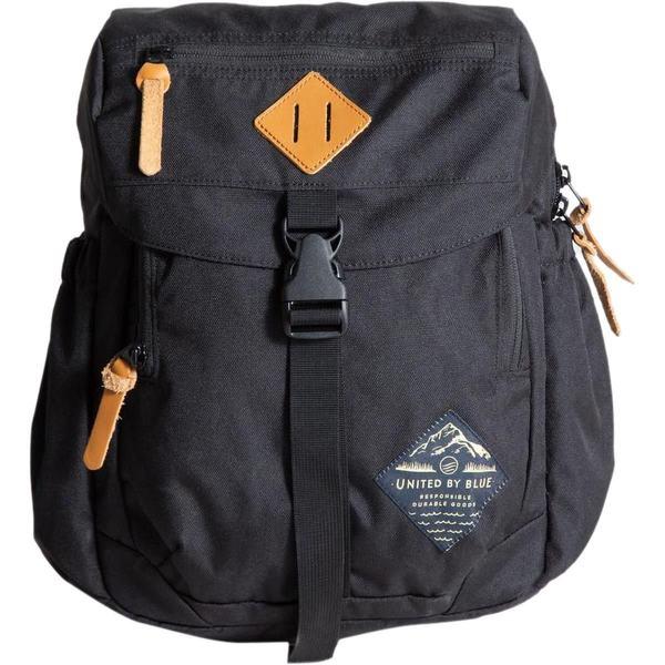 ユナイテッドバイブルー メンズ バックパック・リュックサック バッグ Sidkekick 9L Backpack Black