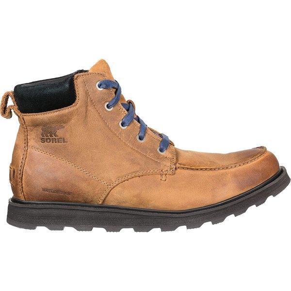 ソレル メンズ ブーツ&レインブーツ シューズ Madson Moc Toe Waterproof Boot - Men's Elk