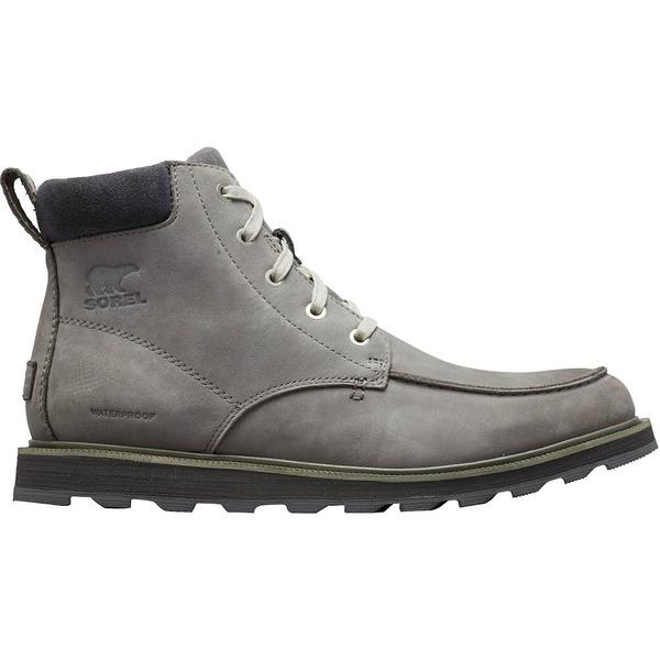 ソレル メンズ ブーツ&レインブーツ シューズ Madson Moc Toe Waterproof Boot - Men's Quarry