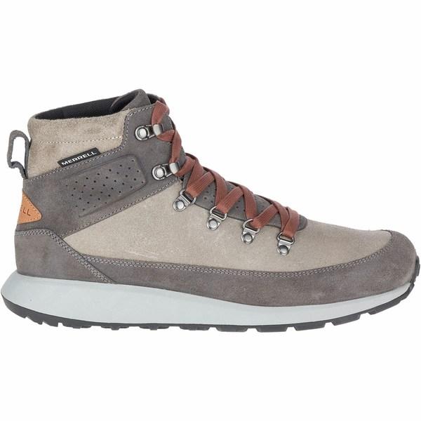 メレル メンズ スニーカー シューズ Ashford Classic Chukka Leather Shoe - Men's Charcoal