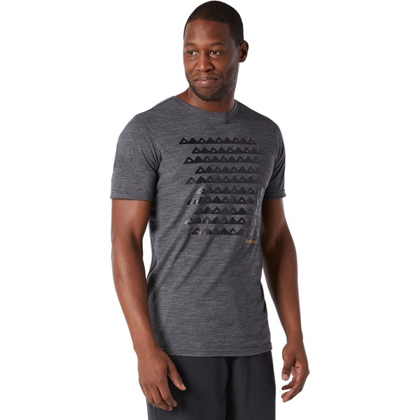 スマートウール メンズ シャツ トップス Merino Sport 150 Sawtooth Range T-Shirt - Men's Medium Gray Heather
