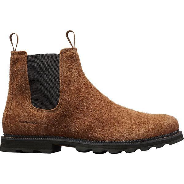 ソレル メンズ ブーツ&レインブーツ シューズ Madson Chelsea WP Boot - Men's Elk/Coal