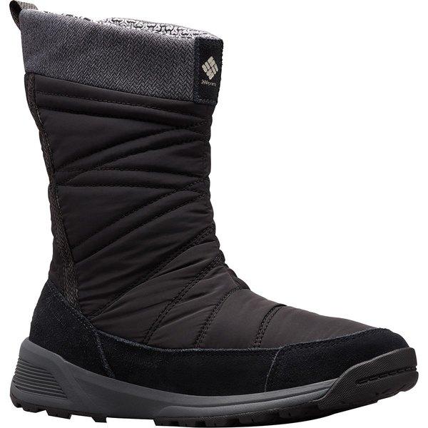 コロンビア レディース ブーツ&レインブーツ シューズ Meadows Slip-On Omni-Heat 3D Winter Boot - Women's Black/Dark Stone