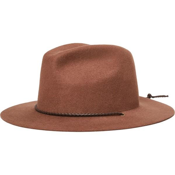 ブリクストン メンズ 帽子 アクセサリー Freeport Fedora Bison