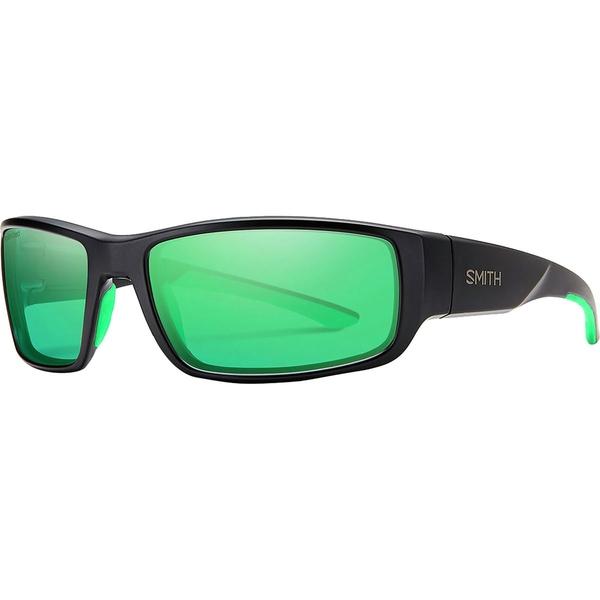 スミス メンズ アクセサリー サングラス・アイウェア Matte Black/Poarized Green Mirror 全商品無料サイズ交換 スミス メンズ サングラス・アイウェア アクセサリー Survey Polarized Sunglasses Matte Black/Poarized Green Mirror