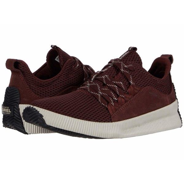 ソレル レディース スニーカー シューズ Out N About Plus Sneaker Redwood