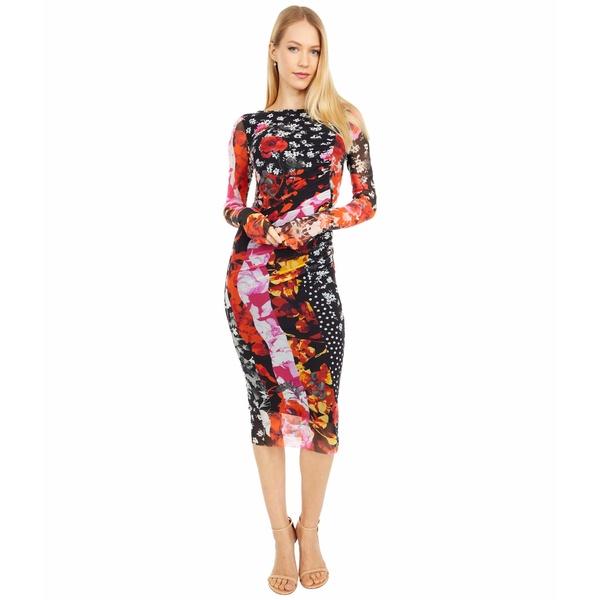 フィッジ レディース ワンピース トップス Patchwork Classic Dress Nero