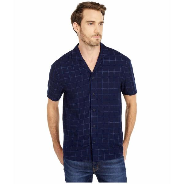 スコッチアンドソーダ メンズ シャツ トップス Lightweight Island Shirt with Prints Combo C