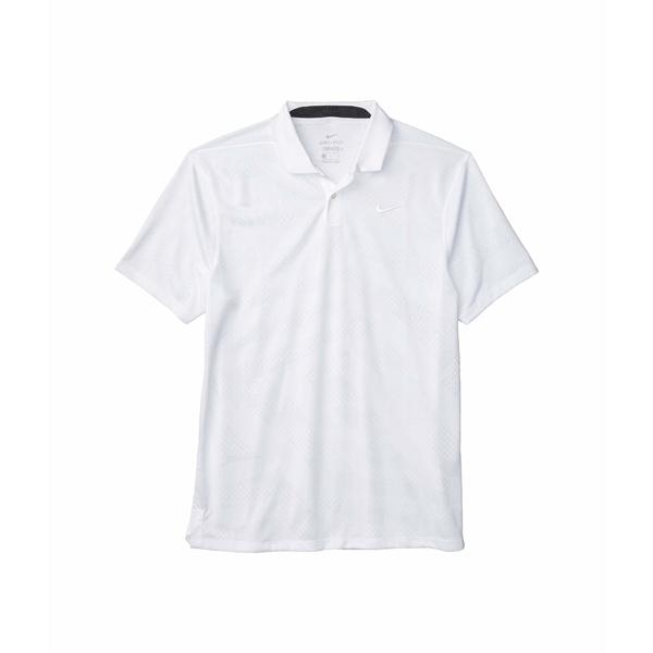 ナイキ メンズ シャツ トップス Dri-FIT Vapor Polo Jacquard White/White