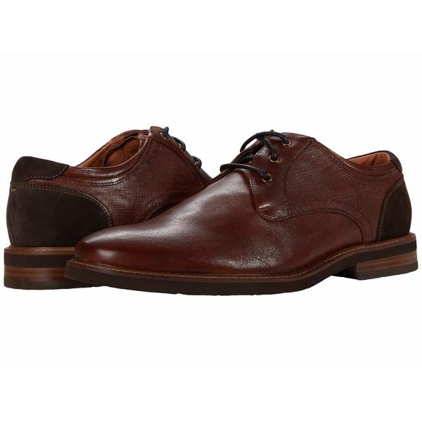 フローシャイム メンズ ドレスシューズ シューズ Highland Plain Toe Oxford II Cognac Smooth/Brown Sole