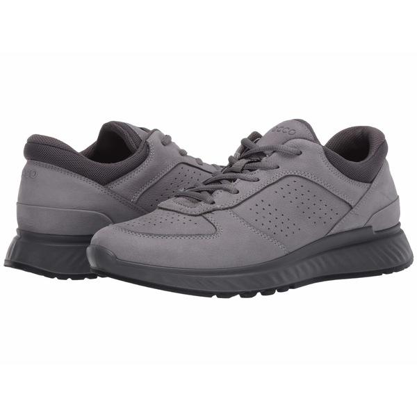 エコー メンズ スニーカー シューズ Exostride Sneaker Titanium/Titanium