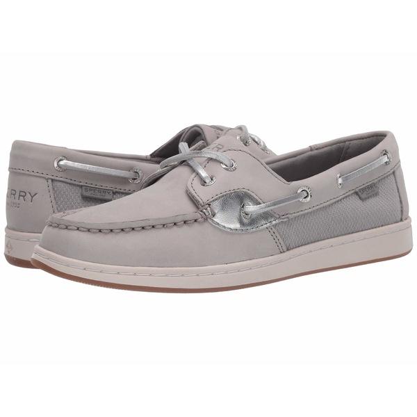 スペリー レディース デッキシューズ シューズ Coastfish Boat Grey/Silver