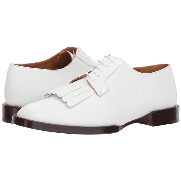クレージェリ レディース オックスフォード シューズ Yvan White Leather Calf