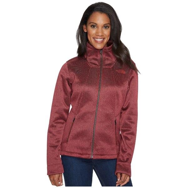 ノースフェイス レディース コート アウター Apex Chromium Thermal Jacket Sequoia Red Herringbone