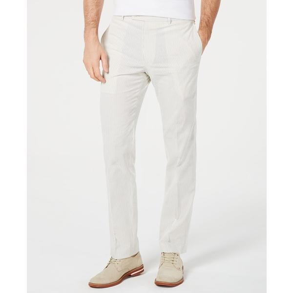 ラルフローレン メンズ ボトムス カジュアルパンツ Grey 全商品無料サイズ交換 Classic-Fit Men's 即納送料無料! 大決算セール Seersucker Pants Dress