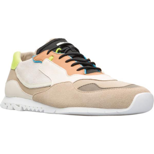 カンペール メンズ シューズ スニーカー Beige Multi Sneaker Polyester Nothing 日時指定 Men's 全商品無料サイズ交換 Calfskin 激安超特価