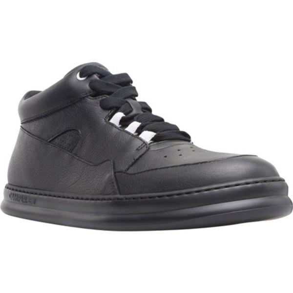 スニーカー Sneaker Perf メンズ (Men's) Smooth Black Leather Runner カンペール シューズ
