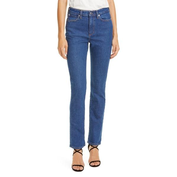 サイモンミラー レディース カジュアルパンツ ボトムス Simon Miller High Waist Skinny Jeans Mid Indigo Wash 3