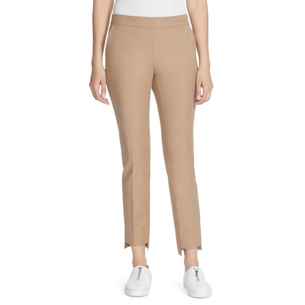 ラファイエットワンフォーエイト レディース カジュアルパンツ ボトムス Lafayette 148 New York Manhattan Step Hem Slim Pants Cammello