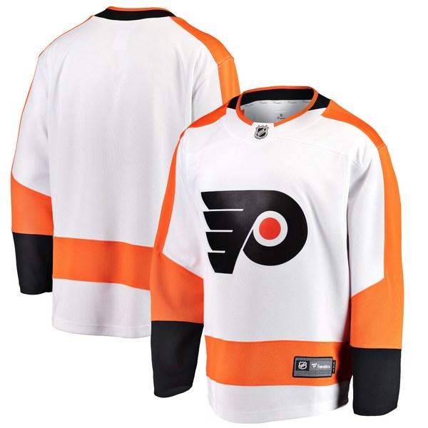 ファナティクス メンズ ユニフォーム トップス Philadelphia Flyers Fanatics Branded Breakaway Home Jersey Orange