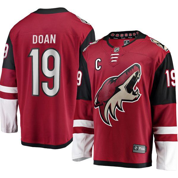 ファナティクス メンズ ユニフォーム トップス Shane Doan Arizona Coyotes Fanatics Branded Home Retirement Breakaway Jersey Garnet