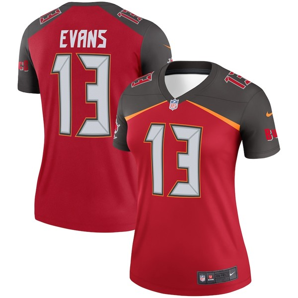 ナイキ レディース シャツ トップス Mike Evans Tampa Bay Buccaneers Nike Women's Legend Jersey Red