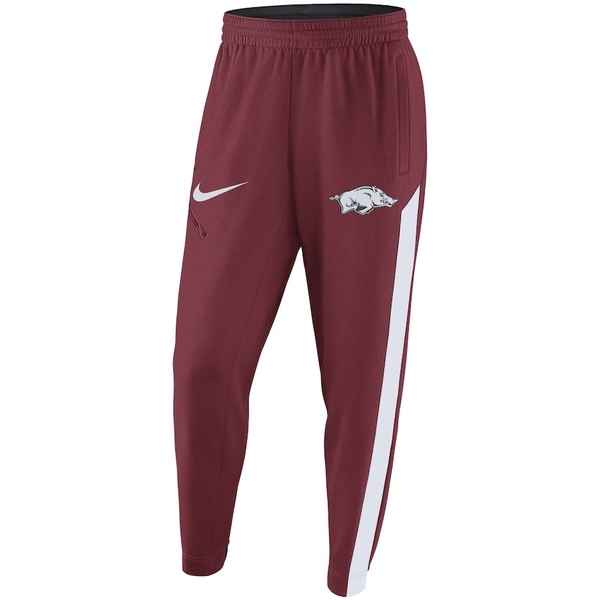 ナイキ メンズ カジュアルパンツ ボトムス Arkansas Razorbacks Nike 2017-2018 Elite Basketball Player Performance Warm-Up Pants Cardinal