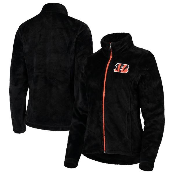 カールバンクス レディース ジャケット&ブルゾン アウター Cincinnati Bengals G-III 4Her by Carl Banks Women's Goal Line Full-Zip Jacket Black
