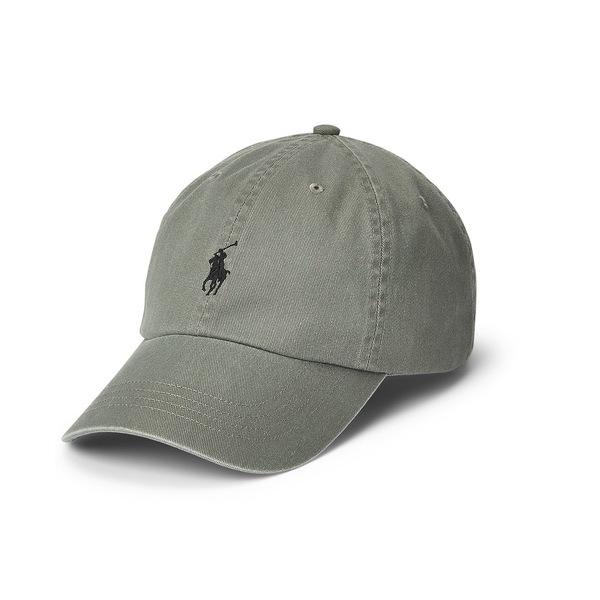 ラルフローレン メンズ ラッピング無料 アクセサリー 帽子 College Grey Men's Chino Cap 全商品無料サイズ交換 Cotton Ball 新作続
