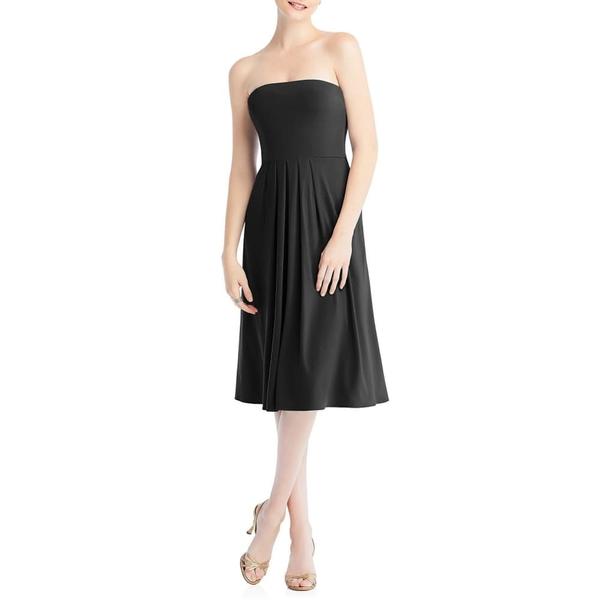 ドレッシーコレクション レディース ワンピース トップス Multi-Way Loop Fit & Flare Dress Black