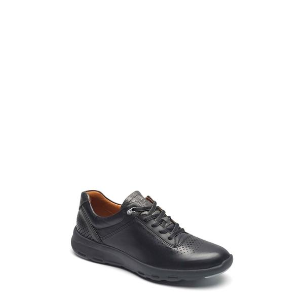 ロックポート レディース スニーカー シューズ Let's Walk Ubal Sneaker Black/ Black Leather