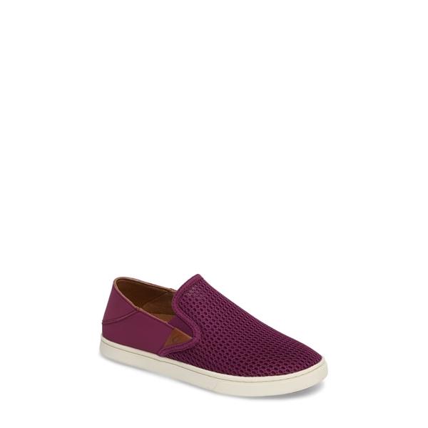 オルカイ レディース スニーカー シューズ 'Pehuea' Slip-On Sneaker Magenta/ Magenta Fabric