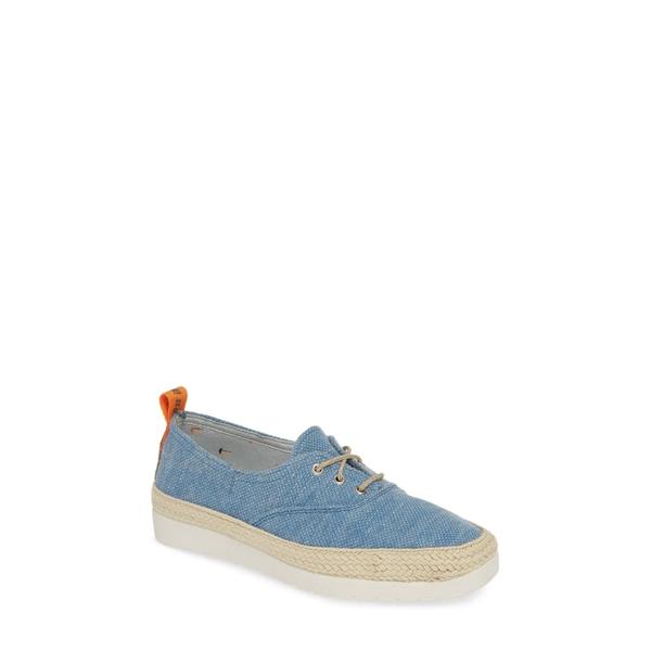 トニーポンズ レディース スニーカー シューズ Bego Espadrille Sneaker Blue Canvas