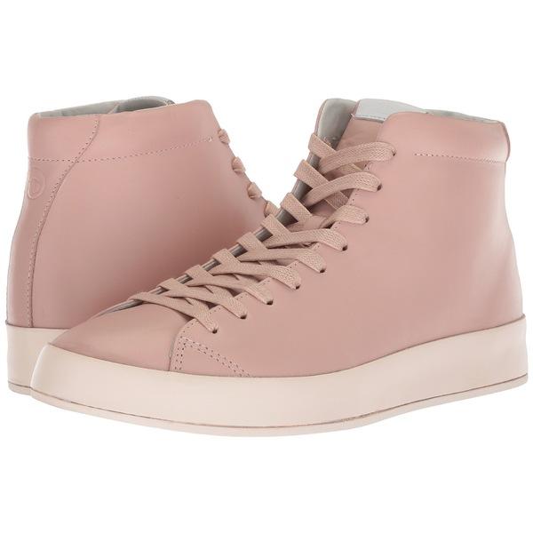 ラグアンドボーン メンズ スニーカー シューズ RB1 High Top Sneakers Pink Smooth Nappa