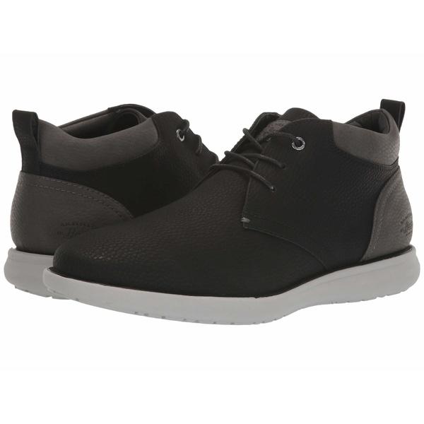ジーエイチバス メンズ ブーツ&レインブーツ シューズ Benton Tumbled Black/Charcoal