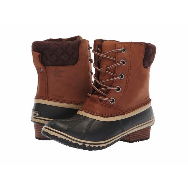 ソレル レディース シューズ ブーツ&レインブーツ Burro/Cattail Nubuck Leather 全商品無料サイズ交換 ソレル レディース ブーツ&レインブーツ シューズ Slimpack II Lace Burro/Cattail Nubuck Leather