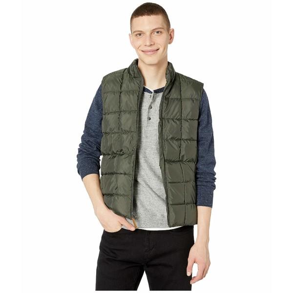 ジェイクルー メンズ コート アウター Box Quilted Vest Olive Moss