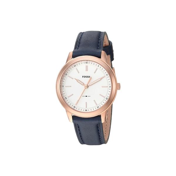 フォッシル レディース 腕時計 アクセサリー Minimalist - ES4299 Navy Leather