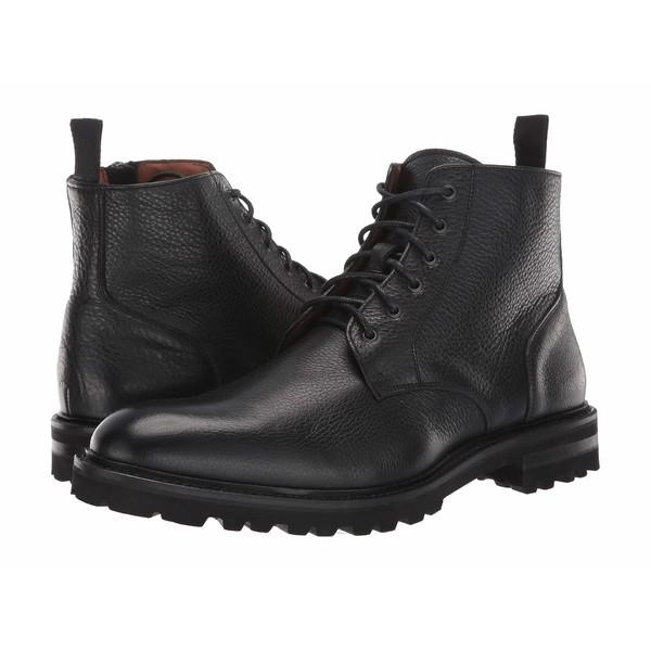アクアタリア メンズ ブーツ&レインブーツ シューズ Leaston Black Tumbled Calf