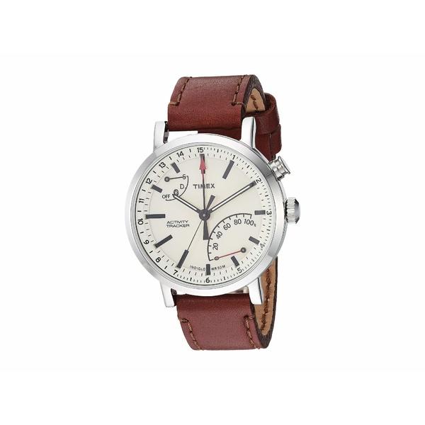 タイメックス メンズ 腕時計 アクセサリー Style Elevated Classic Technology Cream/Brown