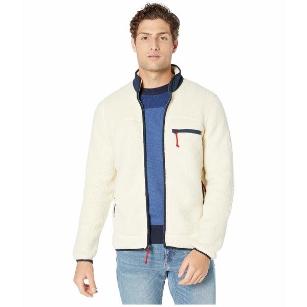 ジェイクルー メンズ コート アウター Polar Sherpa Full Zip Jacket Natural