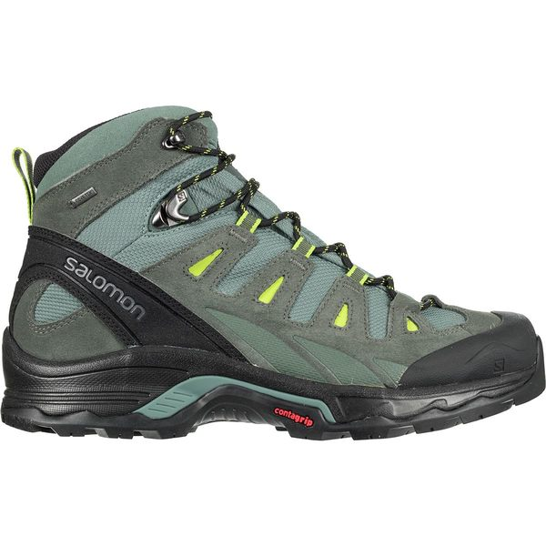 サロモン メンズ ハイキング スポーツ Quest Prime GTX Hiking Boot - Men's Balsam Green/Urban Chic/Lime Green