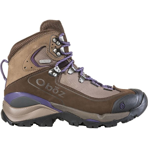 オボズ レディース ハイキング スポーツ Wind River III B-Dry Backpacking Boot - Women's Walnut/Plum