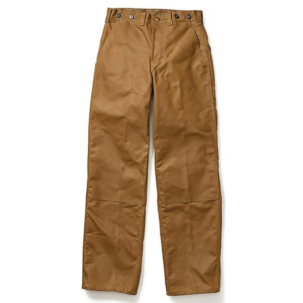フィルソン メンズ ハイキング スポーツ Filson Men's Oil Finish Double Tin Pant Dark Tan