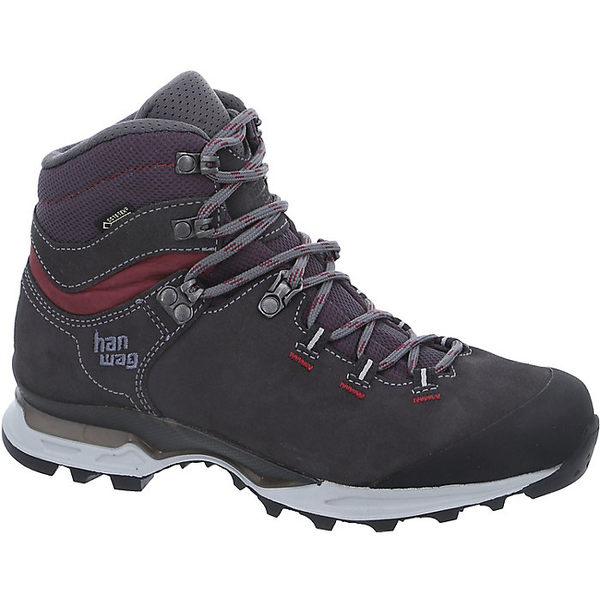ハンワグ レディース ハイキング スポーツ Hanwag Women's Tatra Light Bunion GTX Boot Asphalt / Dark Garnet