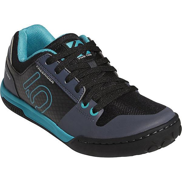 ファイブテン レディース サイクリング スポーツ Five Ten Women's Freerider Contact Shoe Onix / Carbon / Shock Green
