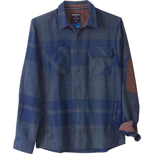 カブー メンズ シャツ トップス KAVU Men's Baxter Shirt Navy