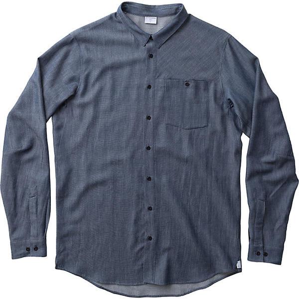 フーディニ メンズ ハイキング スポーツ Houdini Men's Out and About Shirt blue illusion